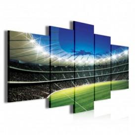 Obraz na plátne viacdielny - OB3875 - Futbalový štadión