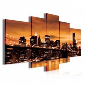 Obraz na plátne viacdielny - OB3876 - New York