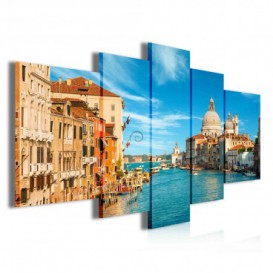 Obraz na plátne viacdielny - OB3880 - Benátky