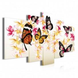 Obraz na plátne viacdielny - OB3882 - Motýle