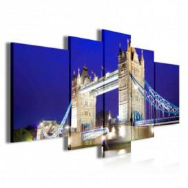 Obraz na plátne viacdielny - OB3883 - Tower Bridge