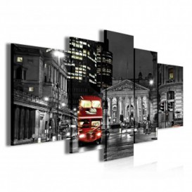 Obraz na plátne viacdielny - OB3884 - Londýn