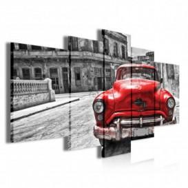 Obraz na plátne viacdielny - OB3896 - Auto