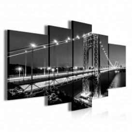 Obraz na plátne viacdielny - OB3905 - Most