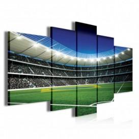 Obraz na plátne viacdielny - OB3910 - Futbalový štadión