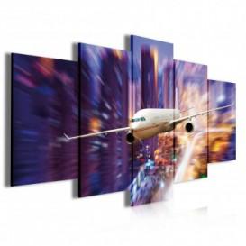 Obraz na plátne viacdielny - OB3922 - Lietadlo