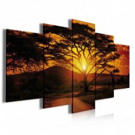 Obraz na plátně vícedílný - OB3925 - Západ slunce