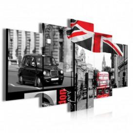 Obraz na plátně vícedílný - OB3928 - Londýn