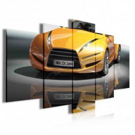 Obraz na plátně vícedílný - OB3930 - Auto