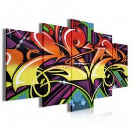 Obraz na plátně vícedílný - OB3941 - Grafit