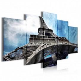 Obraz na plátne viacdielny - OB3949 - Eifelová veža