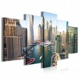 Obraz na plátně vícedílný - OB3956 - Dubaj