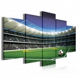 Obraz na plátně vícedílný - OB3958 - Fotbalový stadion