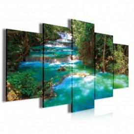 Obraz na plátně vícedílný - OB3961 - Vodopád