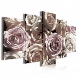 Obraz na plátně vícedílný - OB3980 - Růže