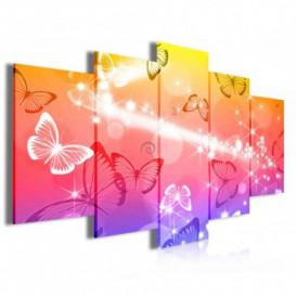 Obraz na plátně vícedílný - OB4006 - Motýli
