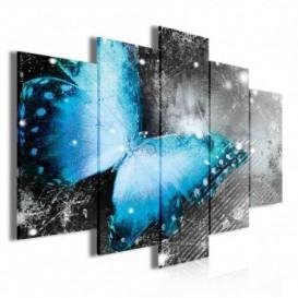 Obraz na plátne viacdielny - OB4020 - Motýľ