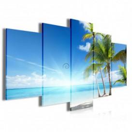 Obraz na plátne viacdielny - OB4022 - Pláž