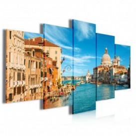 Obraz na plátne viacdielny - OB4030 - Benátky