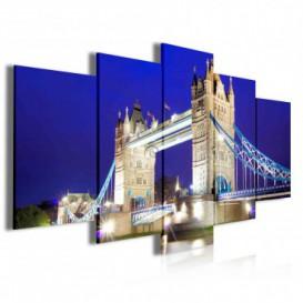 Obraz na plátne viacdielny - OB4033 - Tower Bridge