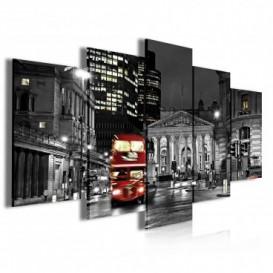 Obraz na plátně vícedílný - OB4034 - Londýn