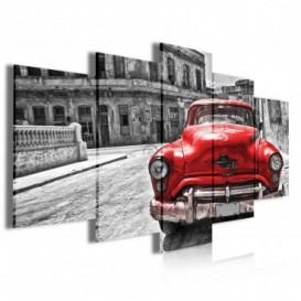 Obraz na plátne viacdielny - OB4046 - Auto