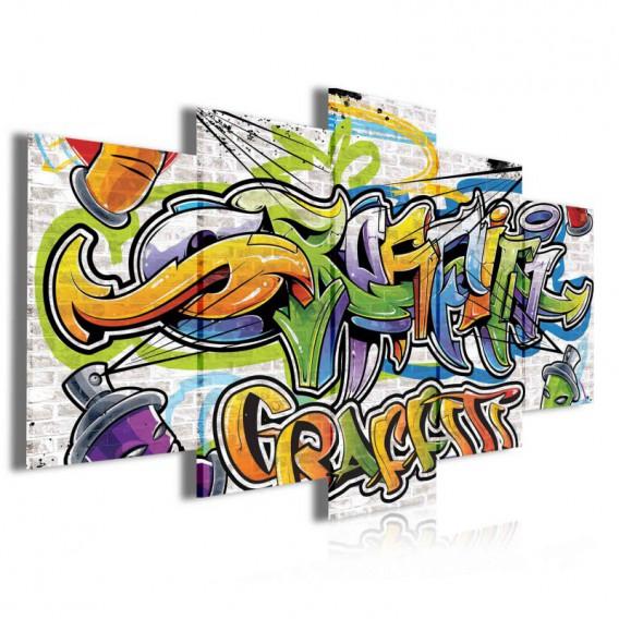 Obraz na plátne viacdielny - OB4054 - Grafity