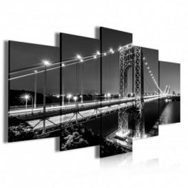 Obraz na plátne viacdielny - OB4055 - Most