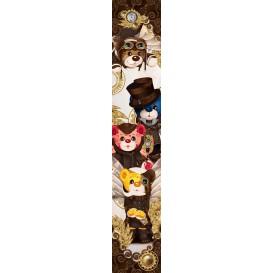 Ozdobné pásy na stenu - FT5531 - Farebné medvede