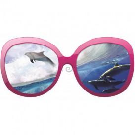 Fototapeta - FT0227 - Okuliare - delfíny