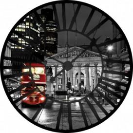Fototapeta - FT0363 - Hodiny - nočný Londýn