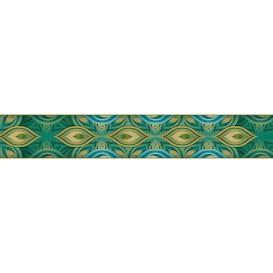 Ozdobné pásy na stenu - MP0310 - Abstraktný zeleno modrý vzor