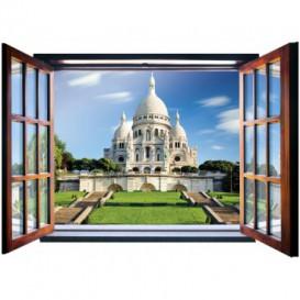 Fototapeta - FT5570 - Okno - Basilique du Sacré-Cœur