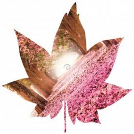 Fototapeta - FT5601 - Javorový list - ružový háj