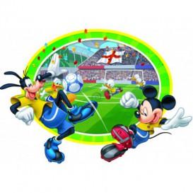 Fototapeta - FT5613 - Vyrezávaná fototapeta - Mickey a Goofy