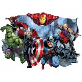 Fototapeta - FT5614 - Vyrezávaná fototapeta - Marvel hrdinovia
