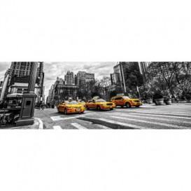 Rohová fototapeta - FT5622 - Taxi