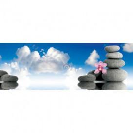 Rohová fototapeta - FT5624 - Zen kamene v oblakoch