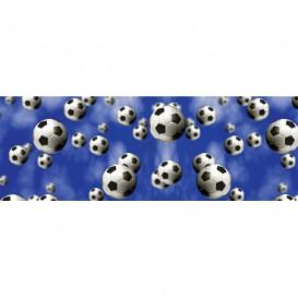 Rohová fototapeta - FT5632 - Futbalové lopty