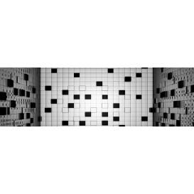 Rohová fototapeta - FT4044 - 3D vzor – kocky