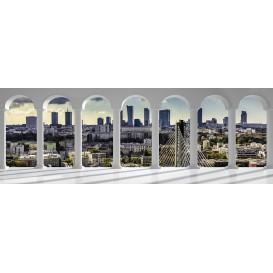 Rohová fototapeta - FT4067 - Mesto - výhľad