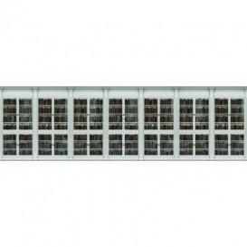 Rohová fototapeta - FT5655 - Knižnica biela