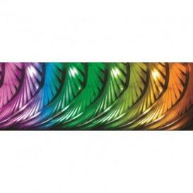 Rohová fototapeta - FT0761 - Farebné listy