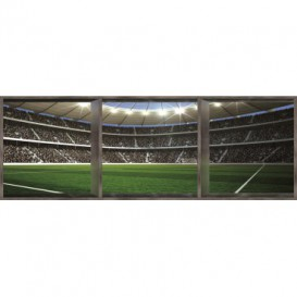 Rohová fototapeta - FT0505 - Futbalové ihrisko