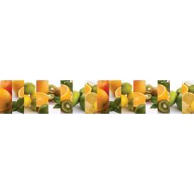 Panel kuchynská linka - FT5656 - Ovocie citrusy