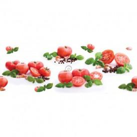 Panel kuchynská linka - FT5658 - Zelenina paradajky