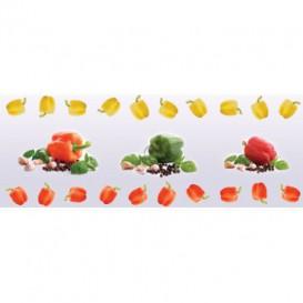 Panel kuchynská linka - FT5659 - Zelenina papriky