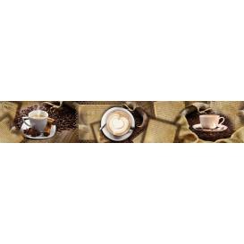 Panel kuchynská linka - FT5681 - Šálky kávy