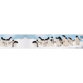 Panel kuchynská linka - FT5685 - Tučniaky