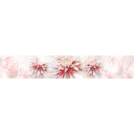 Panel kuchynská linka - FT5687 - Ružové kvety